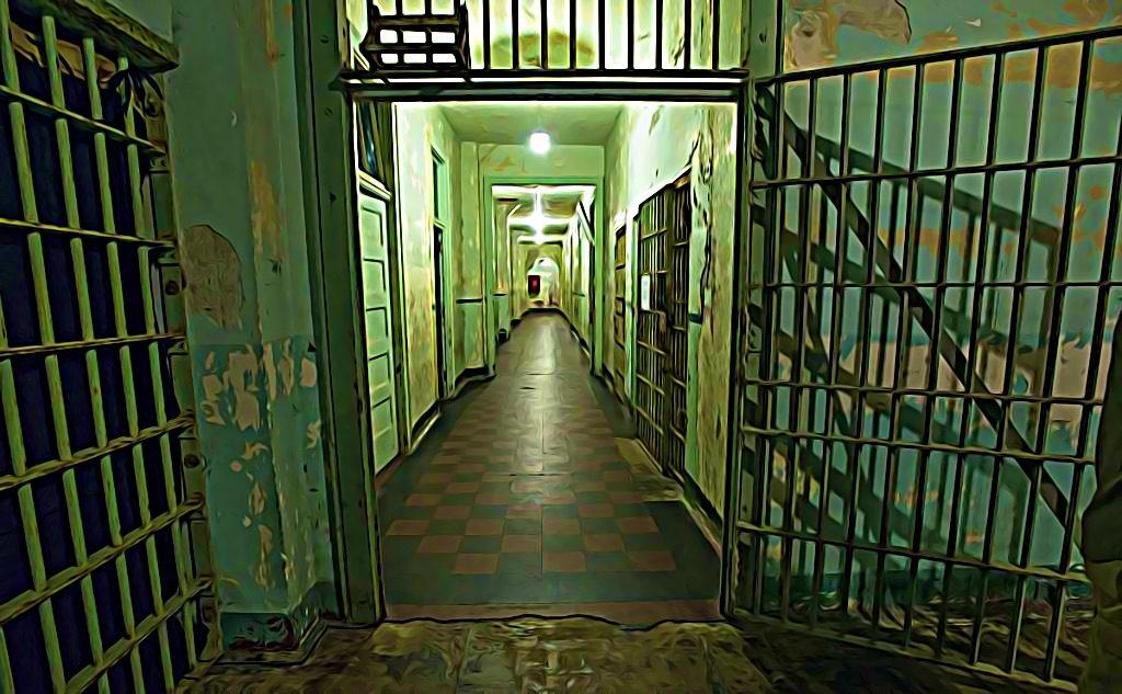 Les portes des prisons