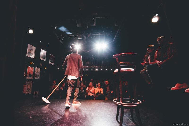 Ambiance. Ici, Fary en scène (photo : jmdprod.com)