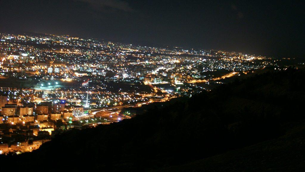 Damas, de nuit, avant la mort et l'oubli