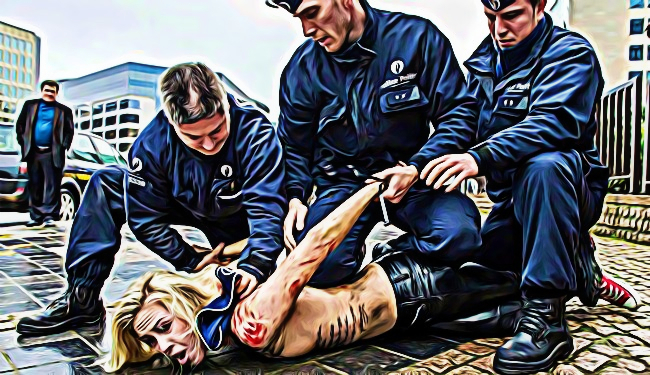arrestation policière