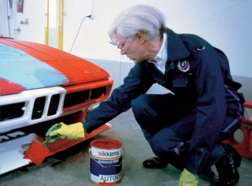 Andy Warhol, peignant la BMW M1