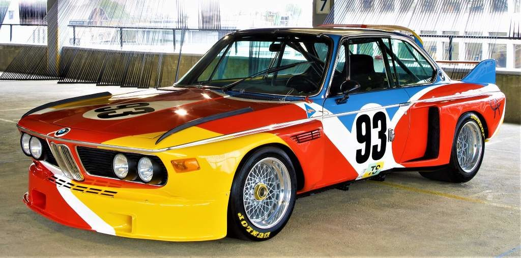 La 3.0 CSL façon Calder de 1975 (photo : BMW)